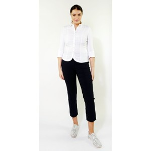 Tinta Style White Eugenia Button Up Blouse