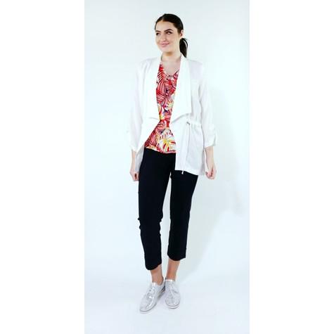 SophieB Off White Draw String Jacket