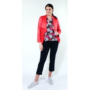 SophieB Red Crop Biker Style Jacket