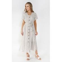 SophieB Sophie B stripe button through dress