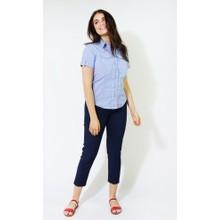 Twist Blue & White Pin Strip Button Shirt