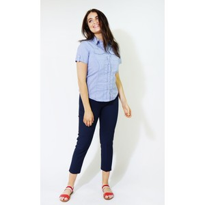 Twist Blue & White Pin Strip Button Shirt