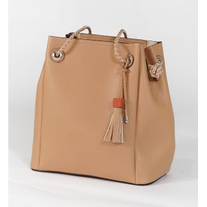 Bestini Beige Rope Detail Shopper Bag