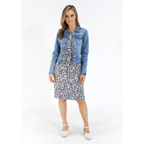 Pamela Scott Classic Denim Jacket