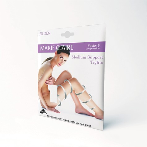 Marie Claire Medium Support Barely Black