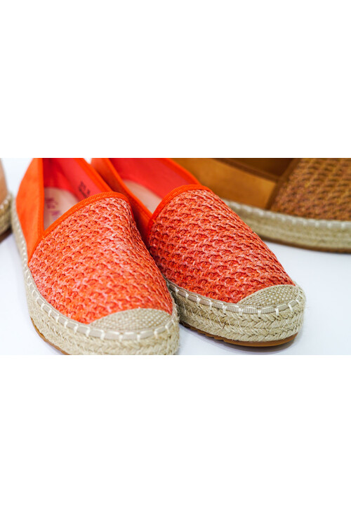 Pamela Scott Red Espadrilles