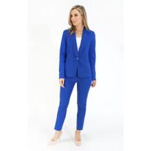 Pamela Scott Royal Blue Formal Skinny Trousers