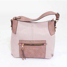Gionni Lilac & Pink Two Tone Bag