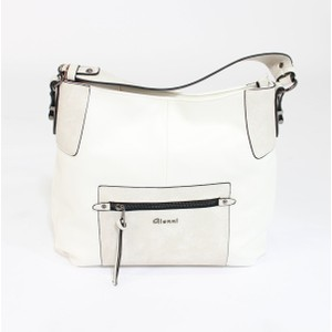 Gionni White & Grey Two Tone Bag