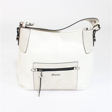 Gionni White & Grey Two Tone Bag