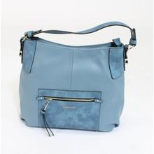 Gionni Blue Two Tone Bag
