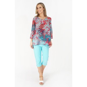 Twist  Twist Printed Tunic with Sleeves