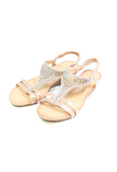 Pamela Scott PINK Diamante Sandals