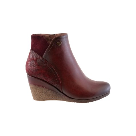 Susst Mulberry Mid Wedge Ankle Boot