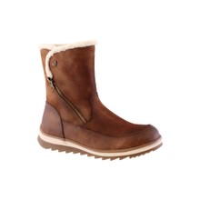 Susst Tan Antique Plain Ankle boot