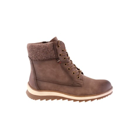 Susst Brown Laced Chukka Ankle Boots
