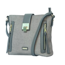 Gionni  Grey Soft Cross Body Bag