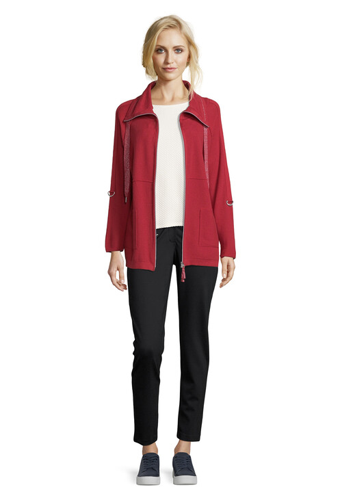 Betty Barclay Casual Zip Cardigan