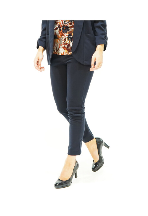 Sophie B Navy Straight Trousers