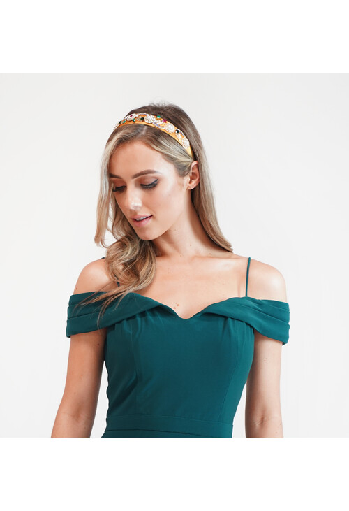 Pamela Scott Colour Jewelled Headband