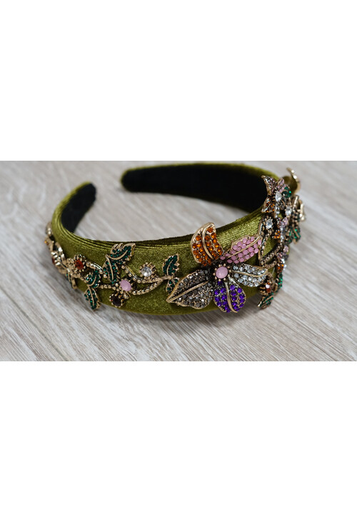 Pamela Scott Flower Detail Headband
