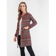 SophieB Rust Aztec Jacket