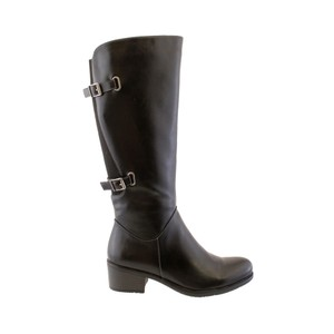 Susst Black Full Length Riding Boot