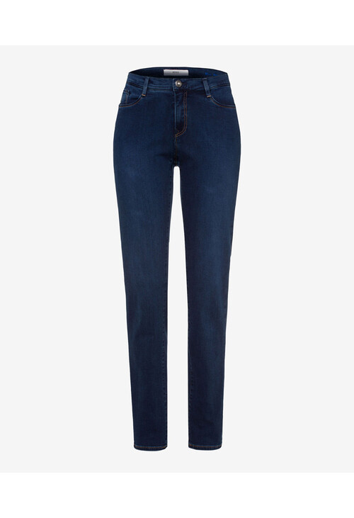 Brax Mary Reg Leg Blue Jeans (32 Inch)