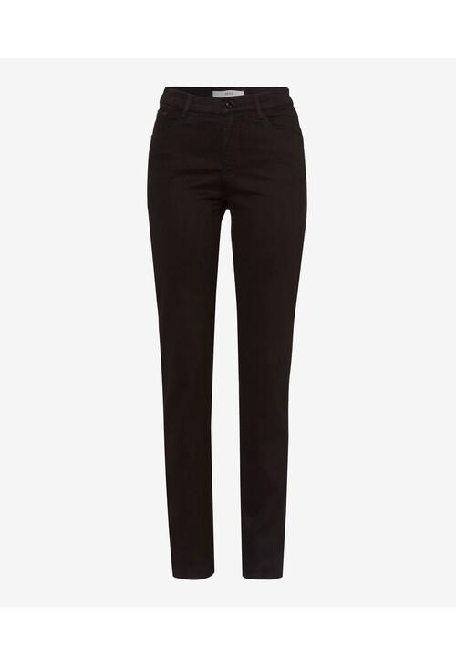 Brax Mary Black Five-Pocket Winter Trousers