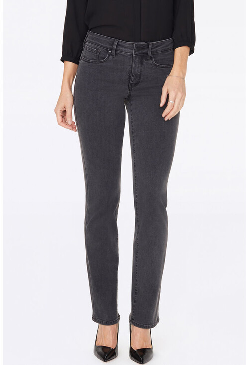 NYDJ Marilyn Straight Jeans With Boho Studs Pocket