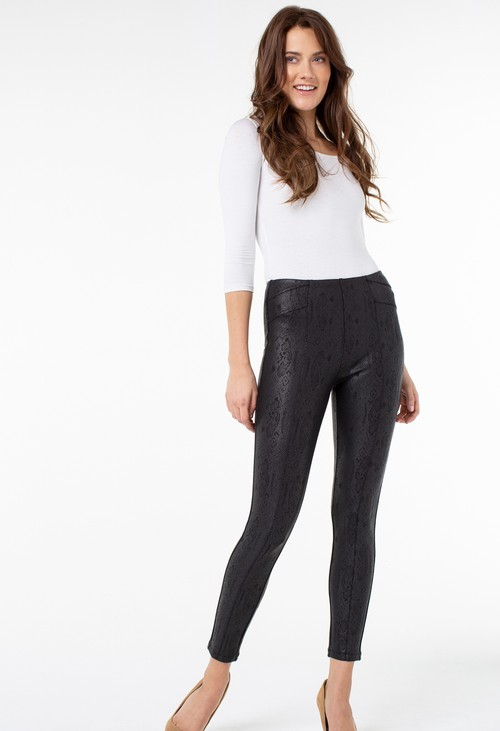 Liverpool High Waist Snake Print Legging