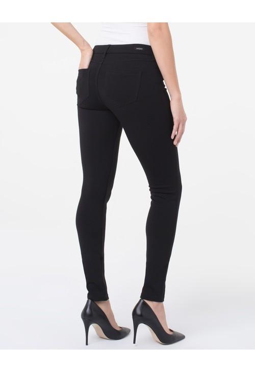 Liverpool Black Plain Legging Trousers