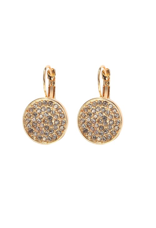 Something Special STARLIGHT PAVE DISC EARRING