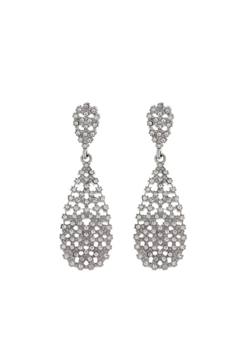 Something Special CRYSTALLINE CRYSTAL TEARDROP STATEMENT EARRINGS