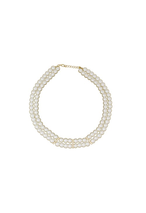 Something Special PEARL BLOOM PEARL & PAVE COLLAR