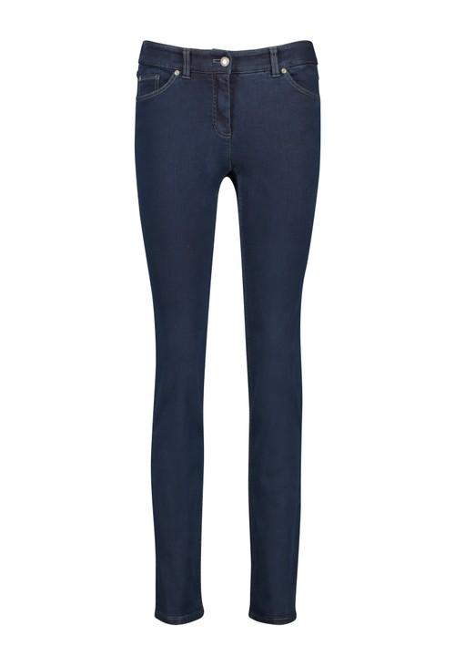 Gerry Weber Dark Blue Best4me Figure-shaping Trousers