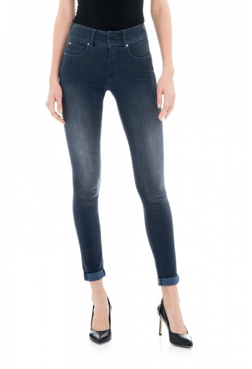 Salsa Jeans SECRET PUSH IN SKINNY JEANS WITH COLOUR STITCHING