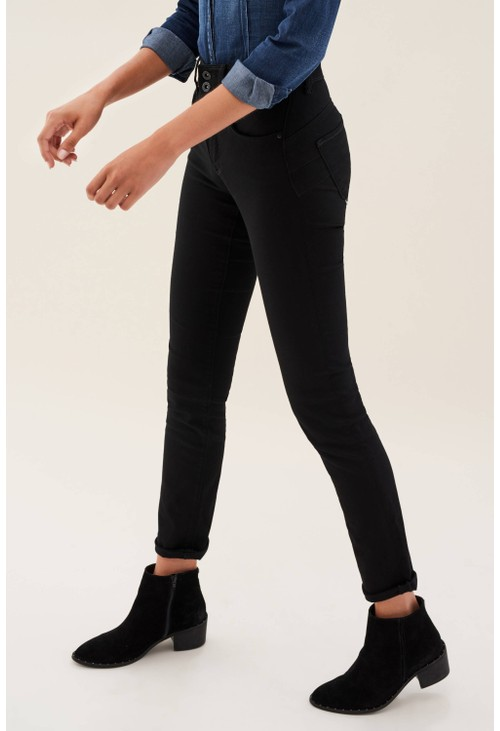 Salsa Jeans BLACK PUSH IN SECRET SLIM JEANS SHORT LEG