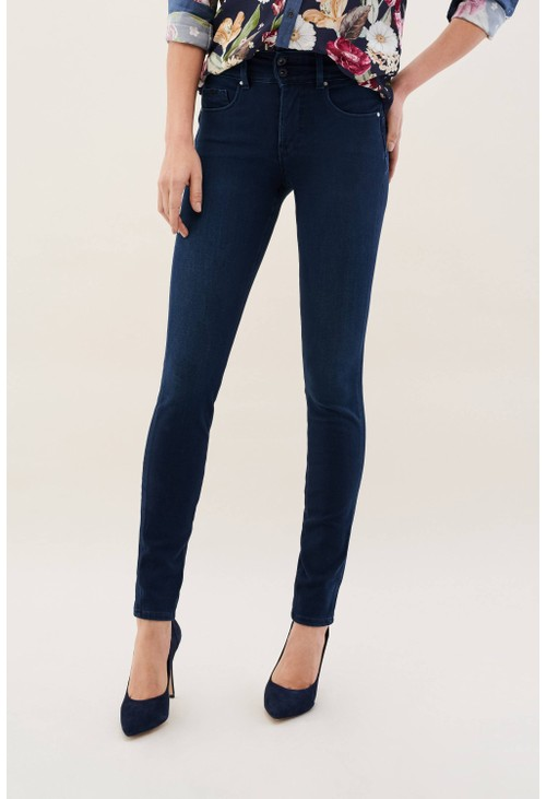 Salsa Jeans DARK DENIM JEANS SECRET SKINNY PREMIUM FLEX