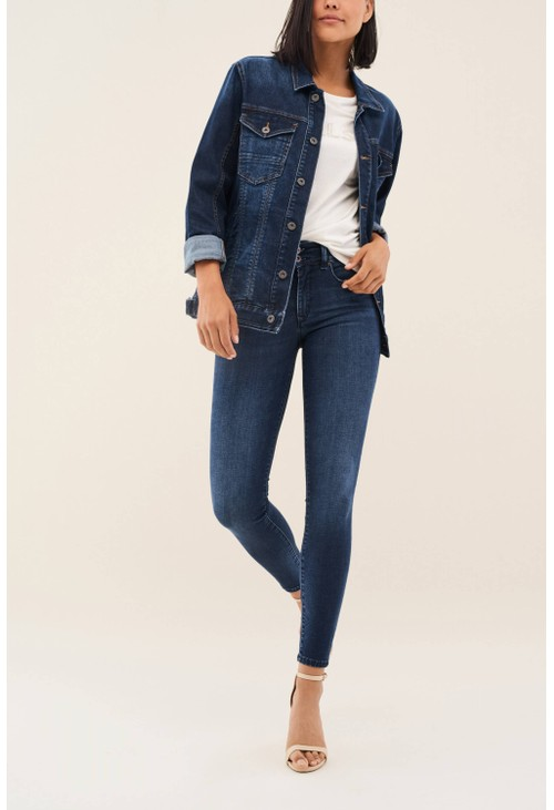 Salsa Jeans BLUE SECRET PUSH IN SKINNY JEANS