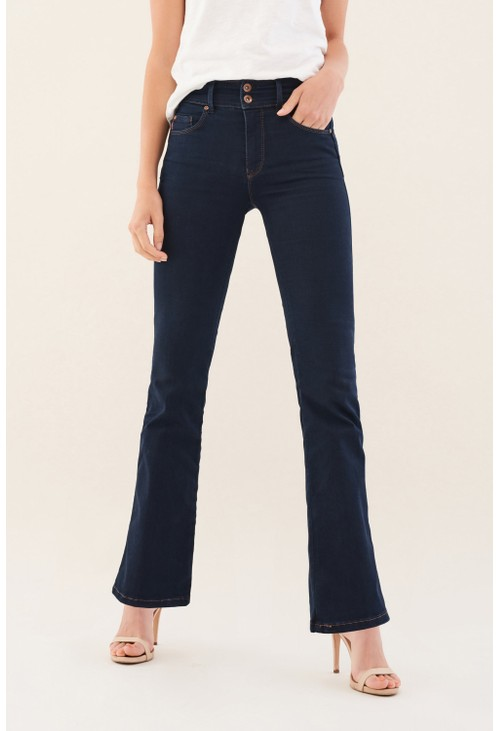 Salsa Jeans BLUE SECRET PUSH IN BOOTCUT JEANS