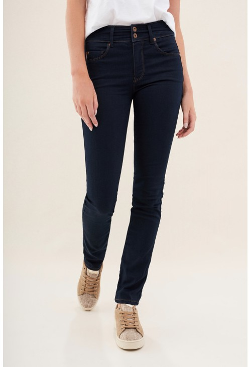 Salsa Jeans BLUE SECRET PUSH IN SLIM JEANS IN DENIM REG LEG