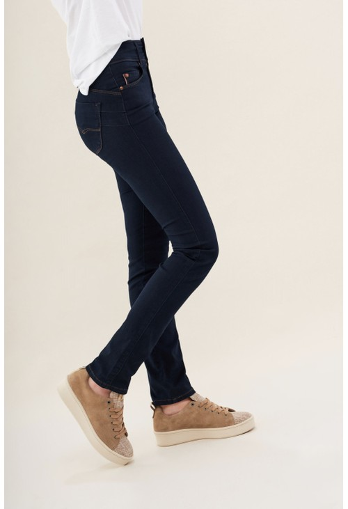 Salsa Jeans BLUE SECRET PUSH IN SLIM JEANS IN DENIM SHORT LEG