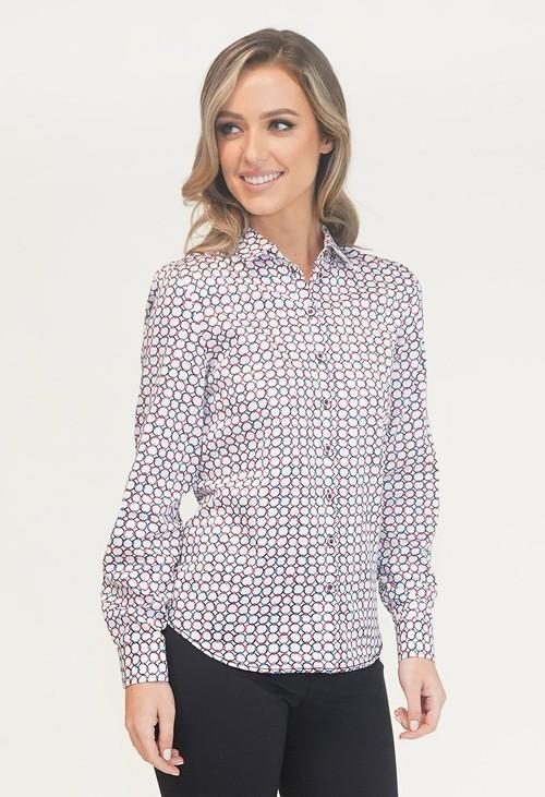 EFRO Circle Print Shirt