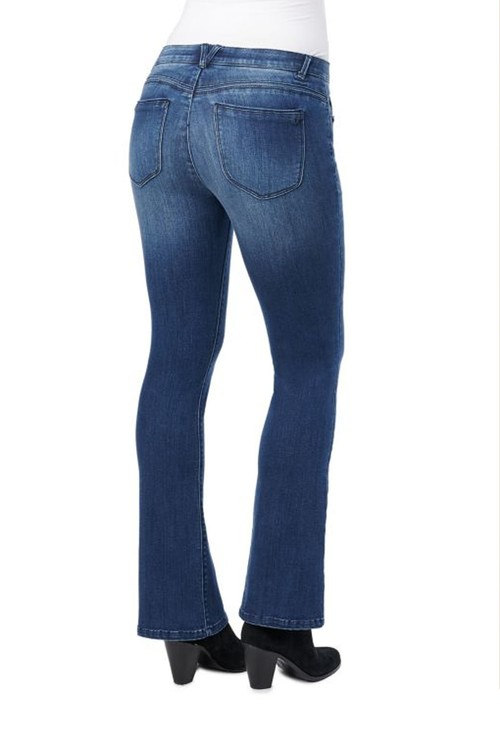 Democracy Blue Bitty Bootcut Ab Solution Jeans