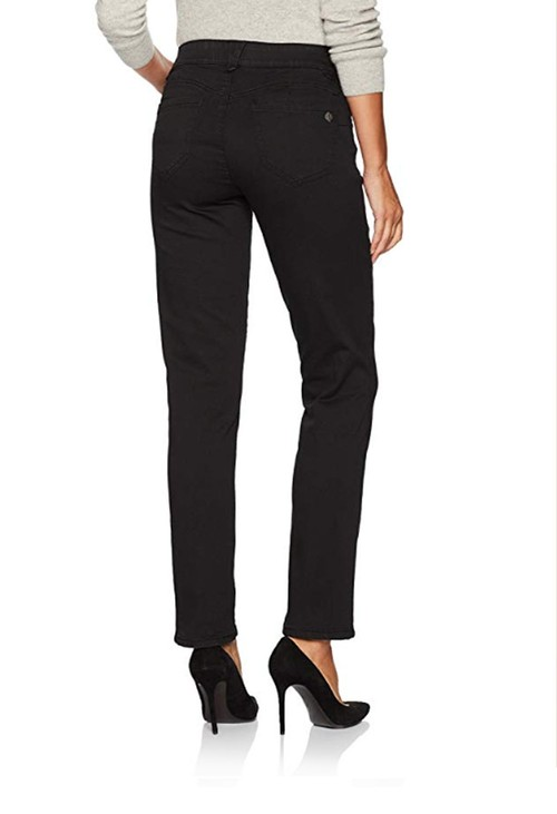 Democracy Black Ab Solution Straight Leg Jean