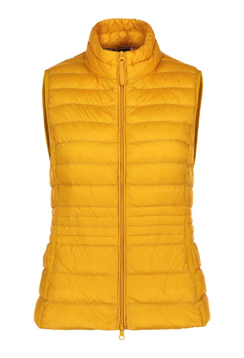 Betty Barclay Gold Padded Gilet Coat
