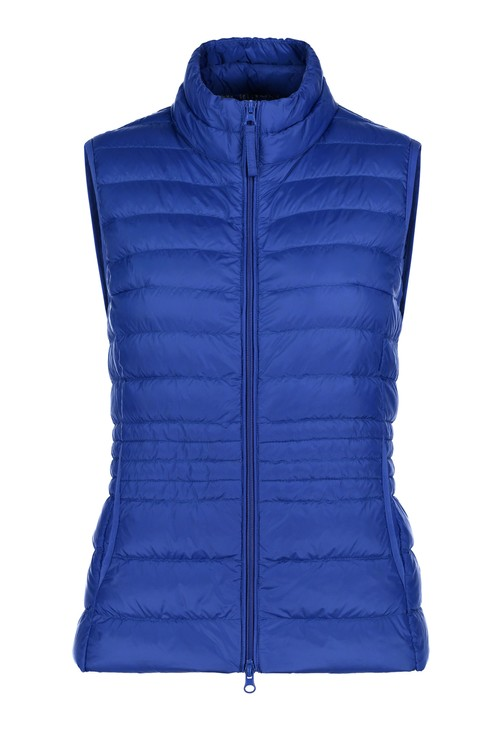 Betty Barclay Adria Blue Padded Gilet Coat