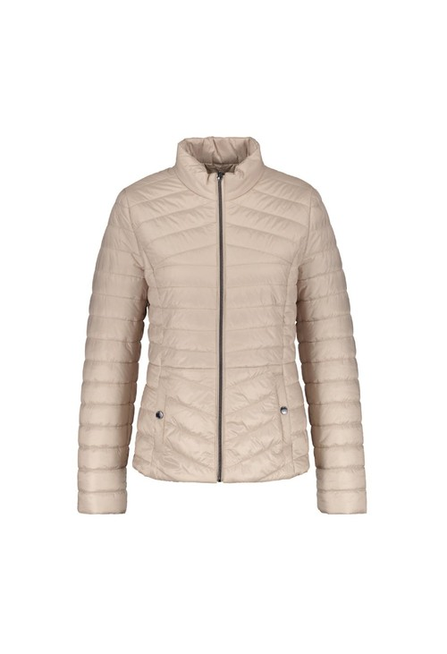 Gerry Weber Beige Quilted Jacket