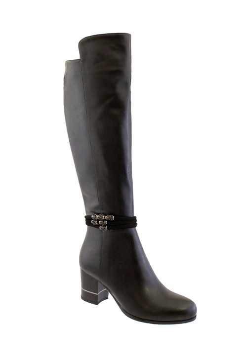 Susst Corey Black Tall Boot